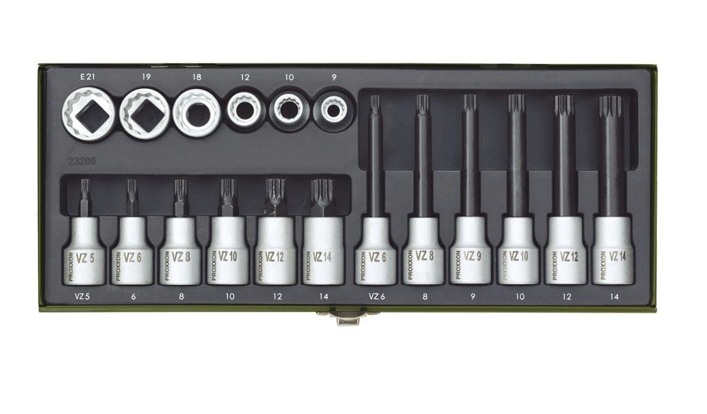 """Steckschlüsseleinsätze Nüsse Proxxon 1//2/"""" 8-18 mm zur Auswahl"""