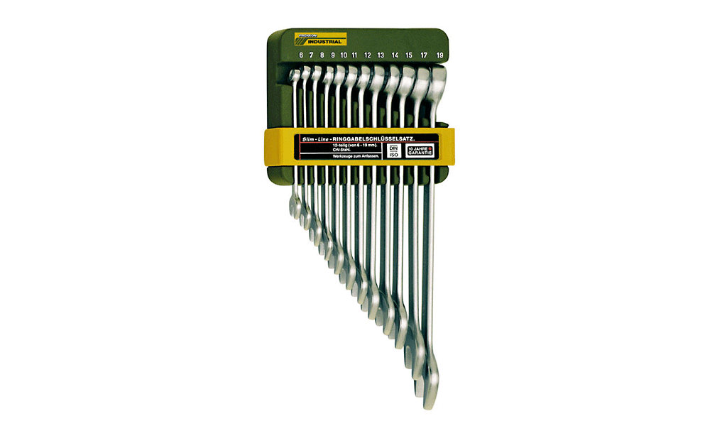 21-teilig S//W 6-32mm SlimLine SCHLÜSSEL SET PROXXON Ring-Maulschlüssel SATZ