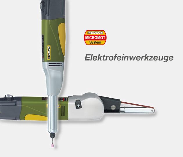 Super PROXXON - The fine tool company WE98