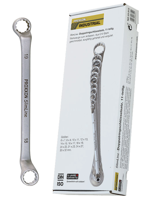 19mm Proxxon Open Ended Spanner 18mm 423846