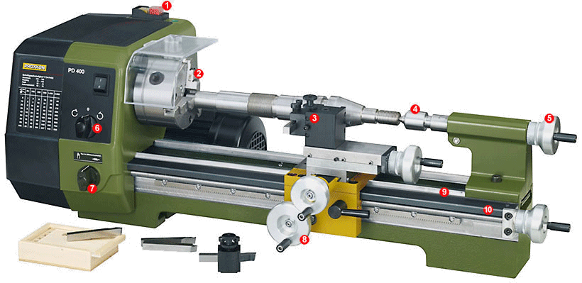 "Proxxon 1//2/"" TX-Utilisation T 60 100 mm long 23499"