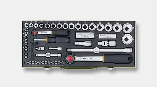 "Proxxon Socket wrench set 3//4/"" 14 piece set 23300"