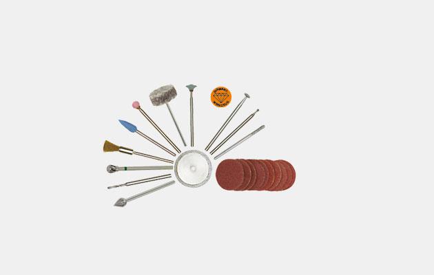 Bits og fræsere af industriel og dental kvalitet