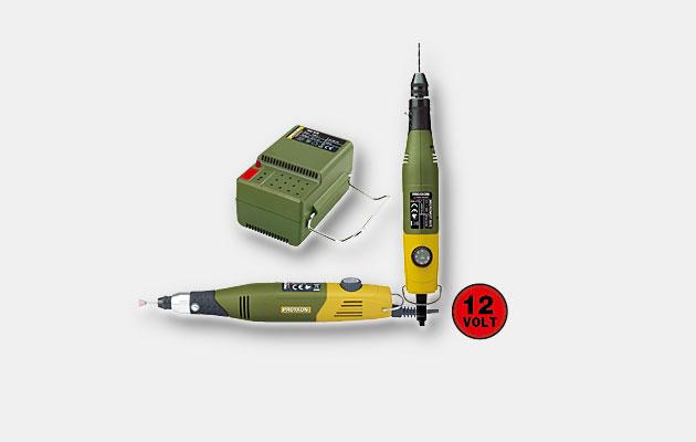 Håndholdt elværktøj 12V og transformere
