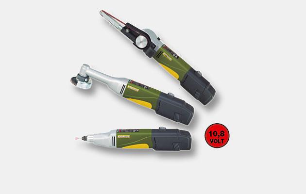 Håndholdt elværktøj batteridrevet 10.8V
