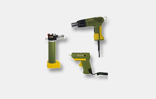 Værktøjer til lodning, opvarmning og limning af job
