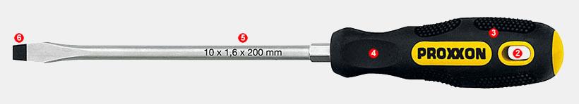 "Proxxon 1//4/"" cruciforme utilisation ph 1"